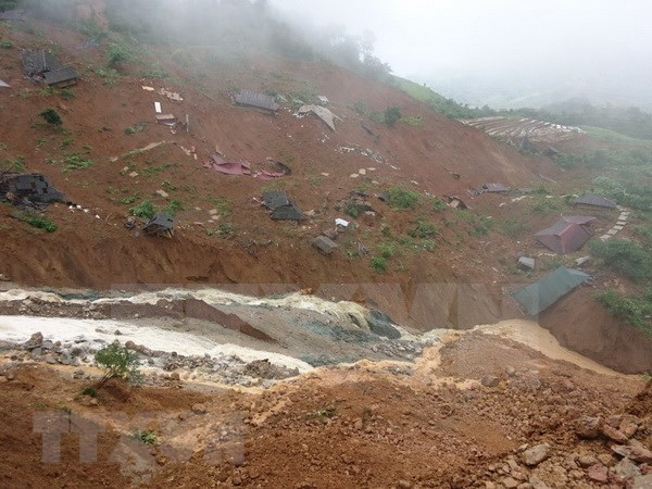 越南北部省份主动应对洪涝灾害 hinh anh 1