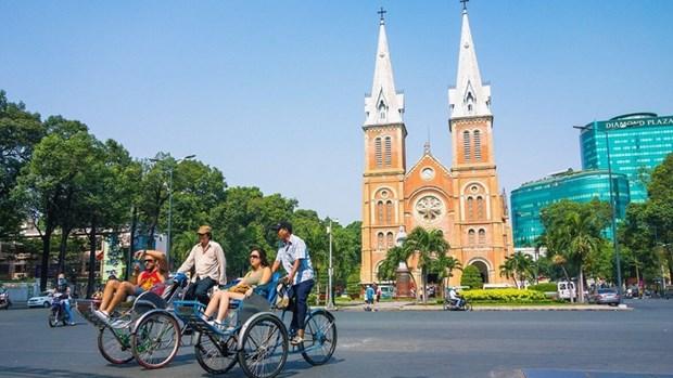 2018年上半年胡志明市接待游客量大幅度增加 hinh anh 1