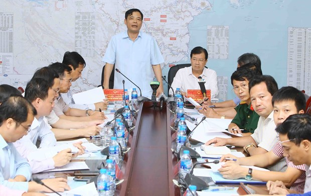 政府副总理郑廷勇:保障人民群众暴雨前的生命财产安全 hinh anh 1