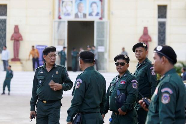 柬埔寨将部署7万名安保人员确保第六届国会选举顺利进行 hinh anh 1