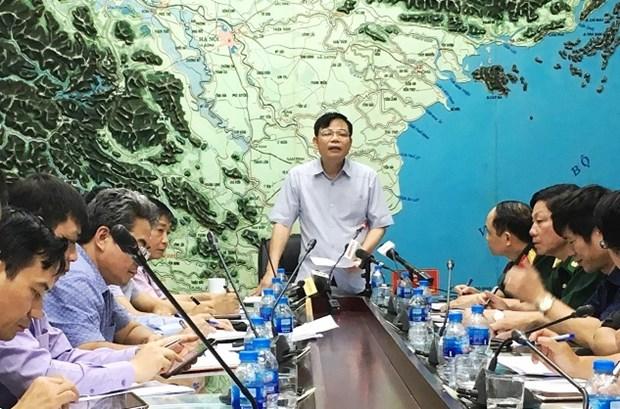 中央防治自然灾害指导委员会组团检查各地防台风应急准备工作 hinh anh 1
