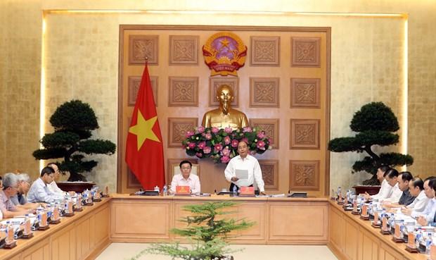 越南政府总理阮春福出席国家货币与财政政策咨询委员会会议 hinh anh 2