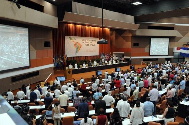 越南共产党代表团出席第24次圣保罗论坛 对多米尼加进行工作访问 hinh anh 1