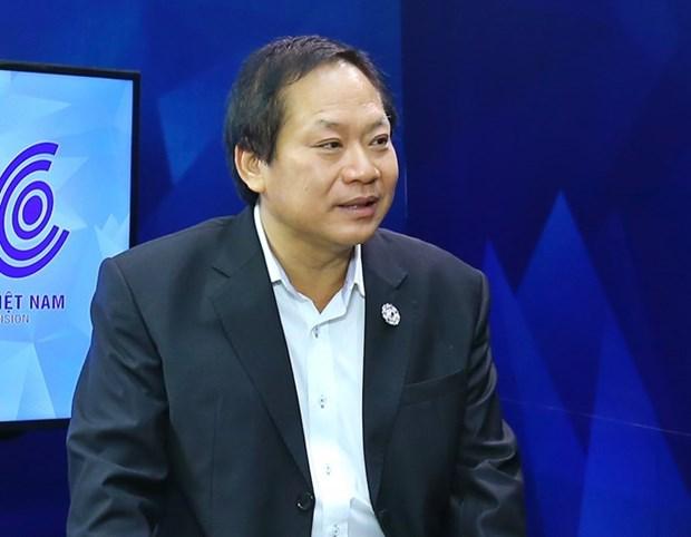 政府总理颁布对信息传媒部部长张明俊给予违纪处分的决议 hinh anh 1