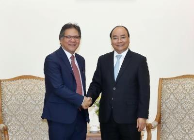 政府总理阮春福会见马来西亚首相署表现管理和传递单位总执行长 hinh anh 1