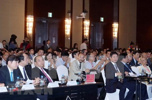 越南政府总理阮春福:需将电子政务的建设与领导人的作用相结合 hinh anh 1
