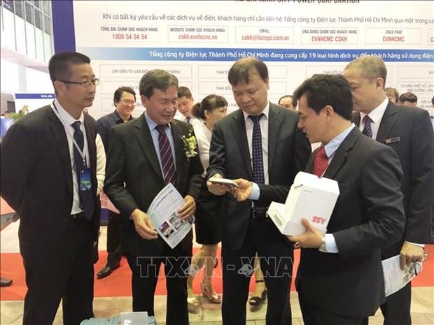 越南电力设备与技术及清洁能源产品等国际展会陆续举行 hinh anh 2