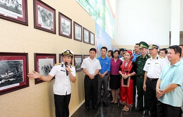 越南海洋岛屿及海军战士展览会开幕 hinh anh 2