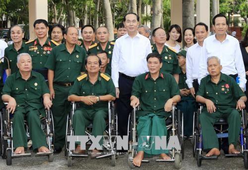 国家主席陈大光:巴地头顿省应更好地把沿海省份的潜力和优势充分发挥出来 hinh anh 3