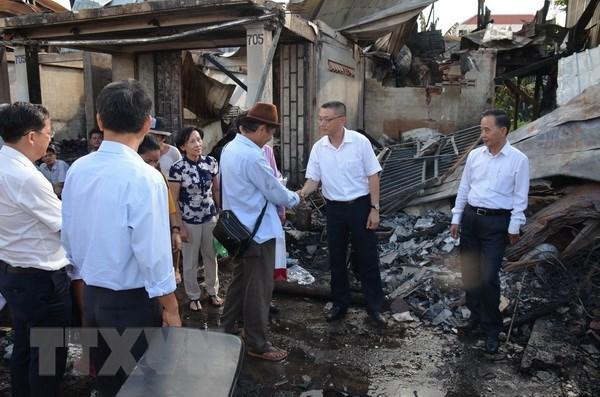 外交部发言人:继续采取措施帮助火灾受灾的越裔柬埔寨人稳定生活 hinh anh 1