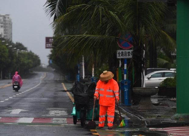 范平明就中国多地发生洪涝灾害向中国外交部长致慰问电 hinh anh 1