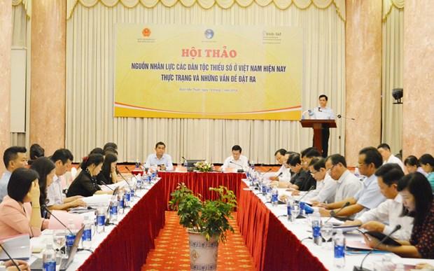 着力提高少数民族群众的文化素质 促进少数民族人力资源改善 hinh anh 1