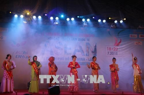 2018年第二届胡志明市东盟国际博览会拉开序幕 hinh anh 1