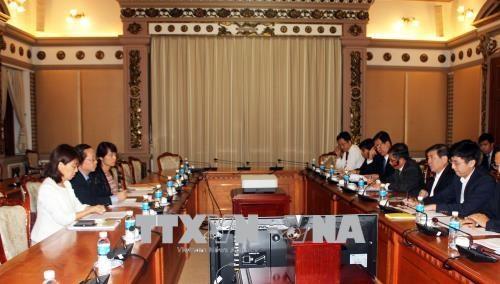 胡志明市与JICA积极协调配合确保ODA项目如期实施 hinh anh 1