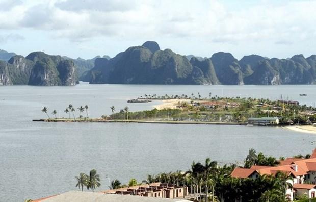 越南广宁省12个海滩达到旅游海滩标准 hinh anh 1