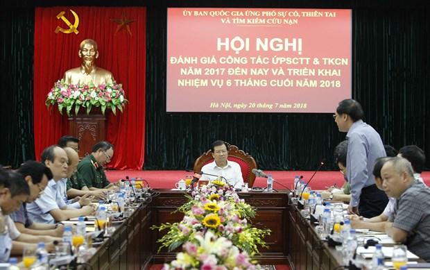 政府副总理郑廷勇:主动应对各种灾难 加强国际减灾合作 hinh anh 1