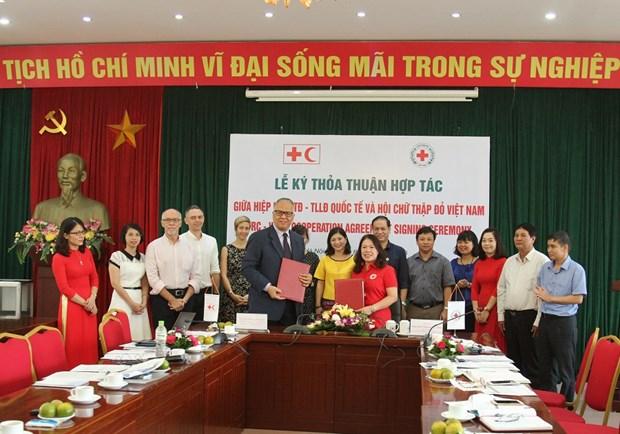 越南高度重视红十字人道主义事业的发展 不断加强人道主义国际间的合作 hinh anh 1