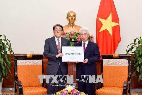 越南向日本灾区提供救灾援助款项 hinh anh 1