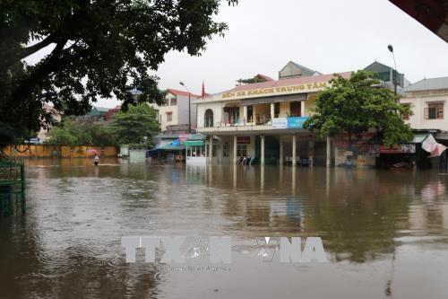越南北部山区暴雨来袭 洪水爆发 hinh anh 2