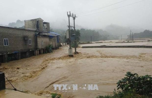 越南北部山区暴雨来袭 洪水爆发 hinh anh 1