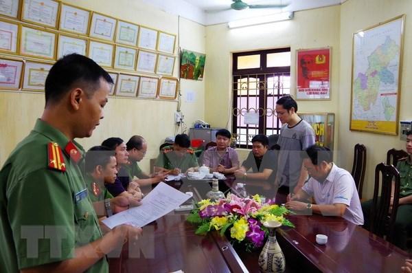河江省高考舞弊事件嫌疑人武仲良遭起诉并被暂时拘留 hinh anh 1