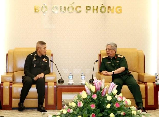 越南重视与泰国的防务合作关系 hinh anh 1