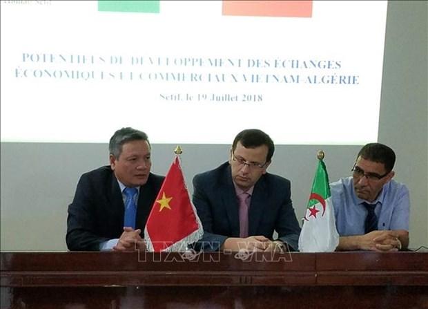 越南与阿尔及利亚促进贸易投资合作 hinh anh 1