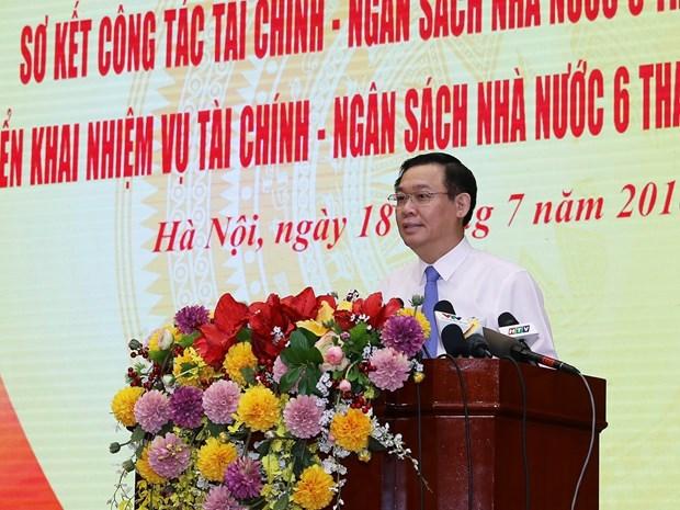 越南财政部:上半年财政收入情况良好 hinh anh 1