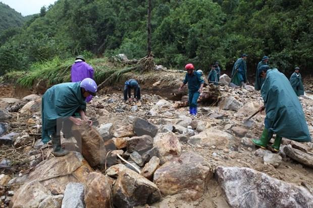三号台风严重影响越南北部和中部 伤亡失踪人数超过70 hinh anh 1