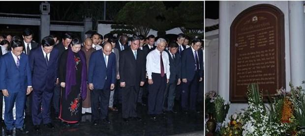 政府总理阮春福出席同禄胜利50周年纪念活动 hinh anh 2