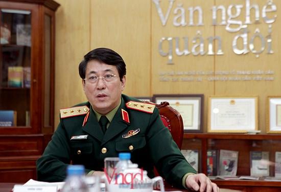 越南人民军高级政治干部代表团对中国进行友好访问 hinh anh 1