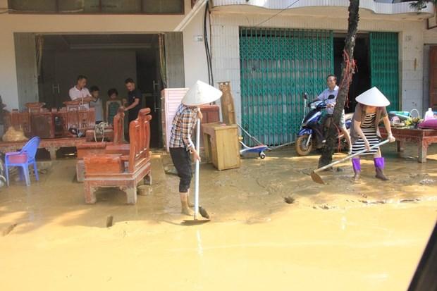各省继续开展第三号台风后救灾工作 hinh anh 3