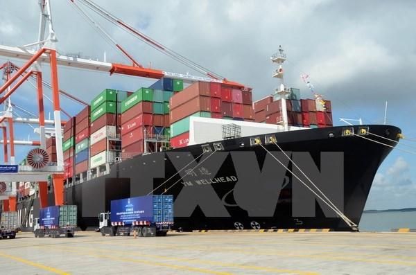 越南港口集装箱货物吞吐量猛增 hinh anh 2