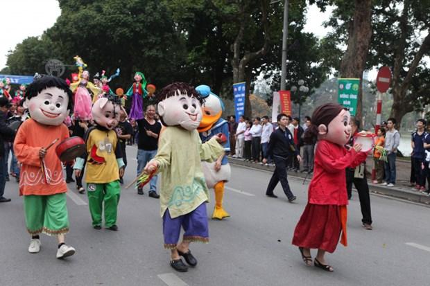 纪念首都河内行政区划扩大调整十周年的街头狂欢节将于本月底举行 hinh anh 1