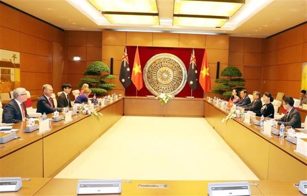 国会主席阮氏金银与澳大利亚众议院议长托尼•史密斯举行会谈 hinh anh 3