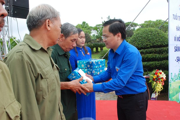 """越南 """"致力于打造绿色越南""""活动在平福省启动 hinh anh 3"""