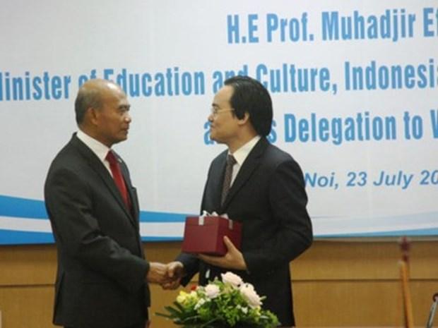 越南与东南亚国家教育部长组织加强合作 hinh anh 1