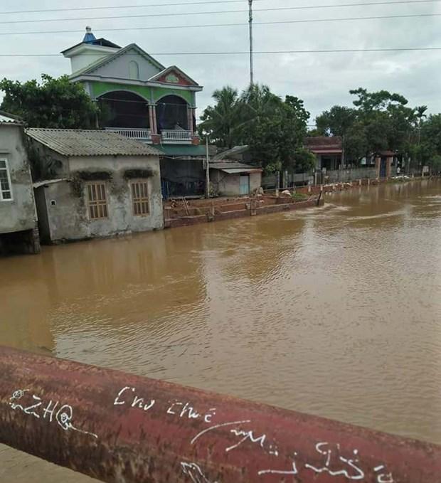 富寿省和山罗省调动一切力量开展暴雨洪水抢险救灾工作 hinh anh 1