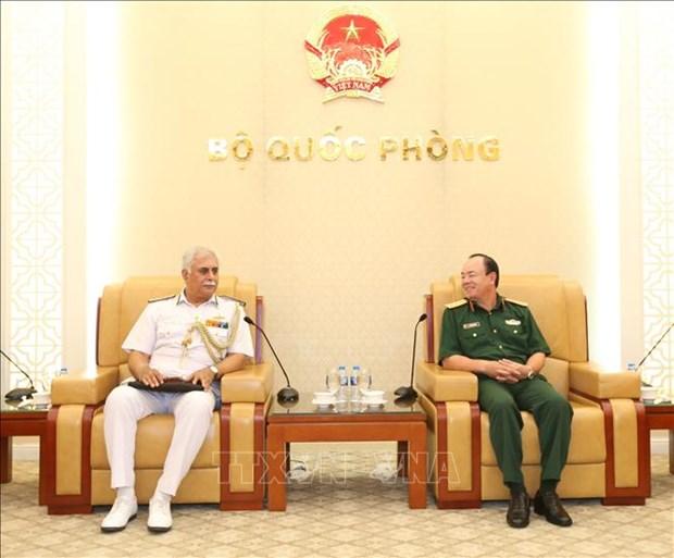 越南与印度两国海军加强合作 hinh anh 1
