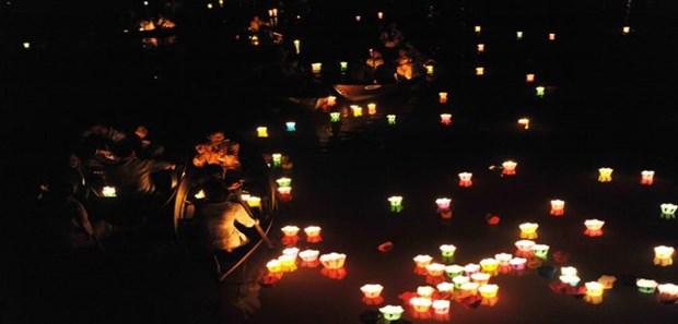 越南文化美中的会安花灯节 hinh anh 2