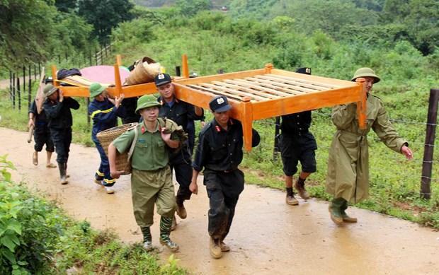 携手帮助三号台风北部和中部以北地区受灾人民 hinh anh 2