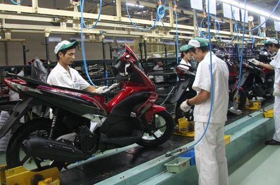 今年上半年越南摩托车销量达158万多辆 hinh anh 1