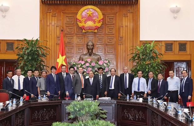 越南政府总理阮春福会见有意对薄辽省投资的客商 hinh anh 1