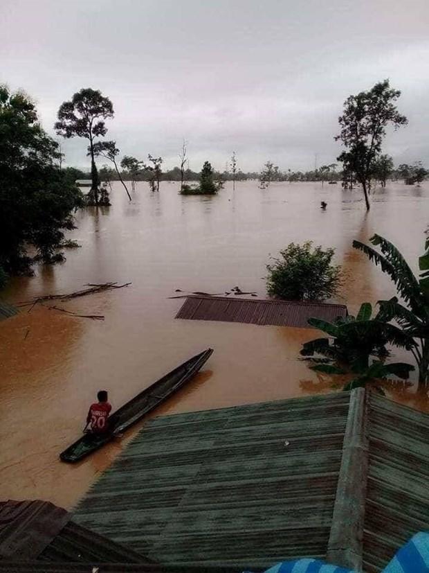 老挝水电站大坝坍塌:越南驻老大使馆为公民领事保护工作做好准备 hinh anh 1