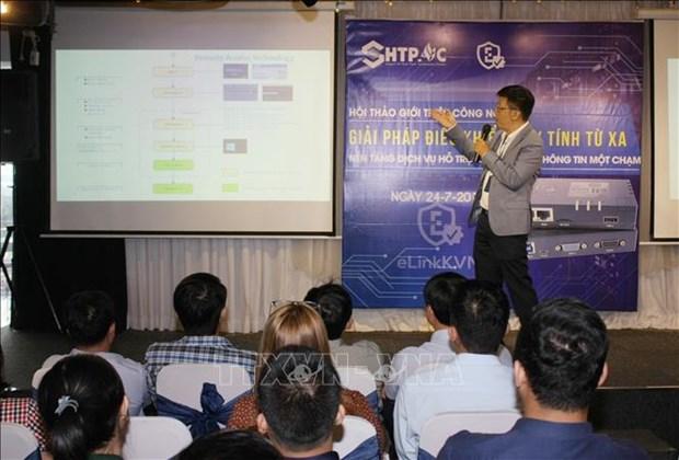 越南企业推出针对主机控制和远程处理的专利技术产品 hinh anh 1