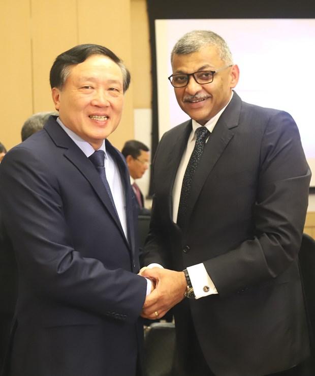 越南与新加坡加强司法领域的合作 hinh anh 1
