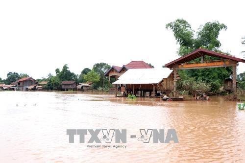 老挝水电站大坝坍塌事故:未接到有越南人失踪的报告 hinh anh 1