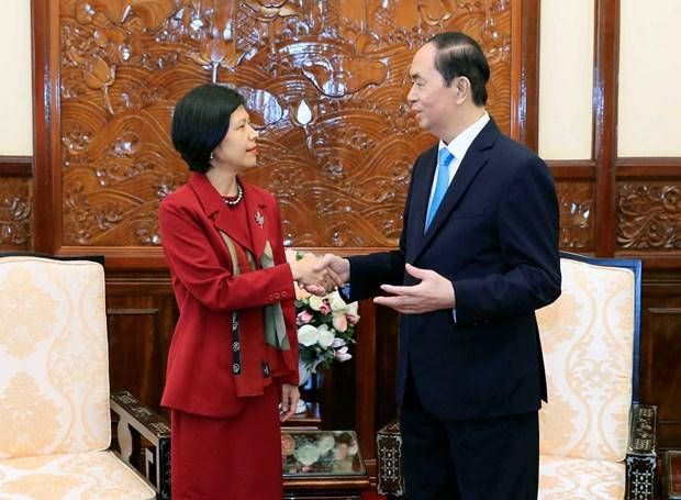 陈大光会见比利时和加拿大驻越大使 hinh anh 2