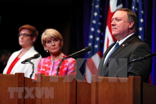 美国和澳大利亚再次重申维护东海航行自由的重要性 hinh anh 1