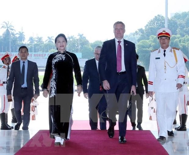 澳大利亚众议院议长托尼·史密斯圆满结束对越南进行的正式访问 hinh anh 1